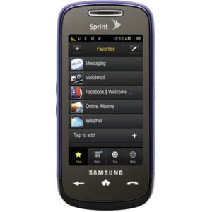 Samsung Instinct s30 Purple