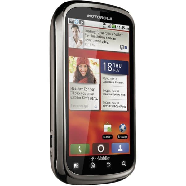 MOTOROLA CLIQ 2 with MOTOBLUR