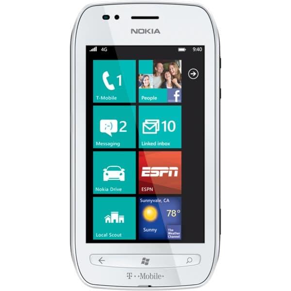 Nokia Lumia 710 White for T-Mobile