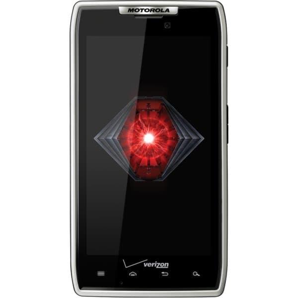 DROID RAZR by MOTOROLA White for Verizon Wireless