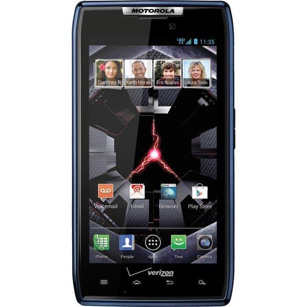 DROID RAZR by MOTOROLA Blue for Verizon Wireless