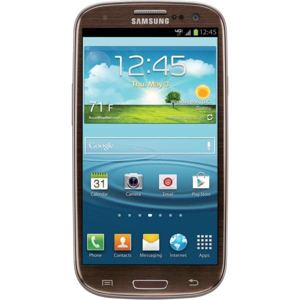 Samsung Galaxy S III with 16GB Amber Brown for Verizon Wireless