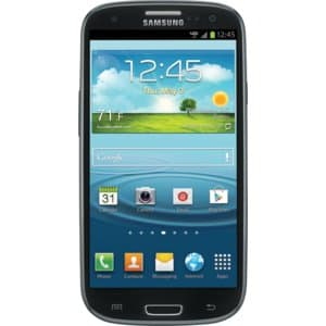 Samsung Galaxy S III with 16GB Black - 4G LTE