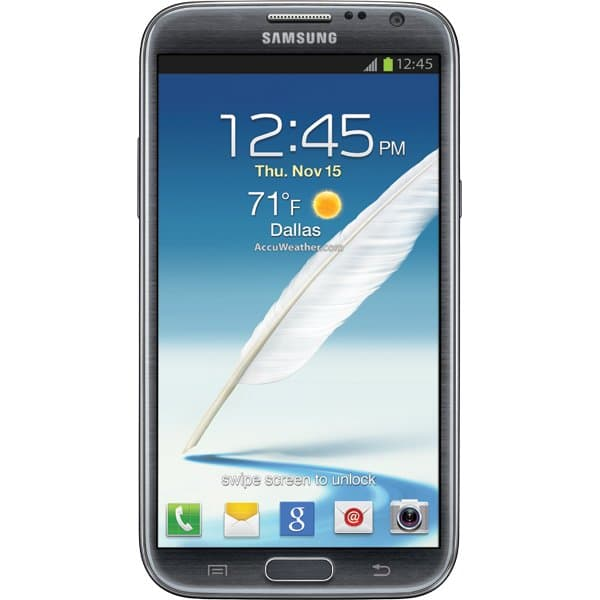 Samsung Galaxy Note II Titanium Gray for T-Mobile
