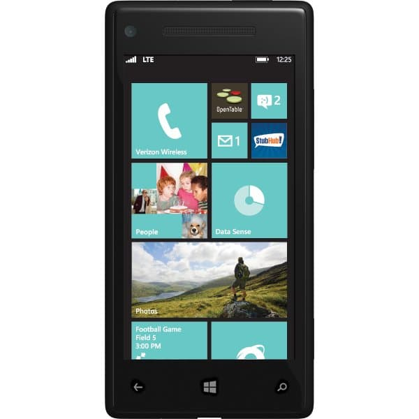 Windows Phone 8X by HTC for Verizon Wireless