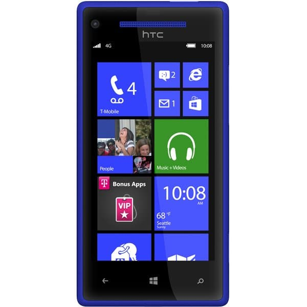 Windows Phone 8X by HTC Blue for T-Mobile