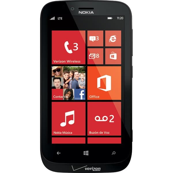 Nokia Lumia 822 for Verizon Wireless
