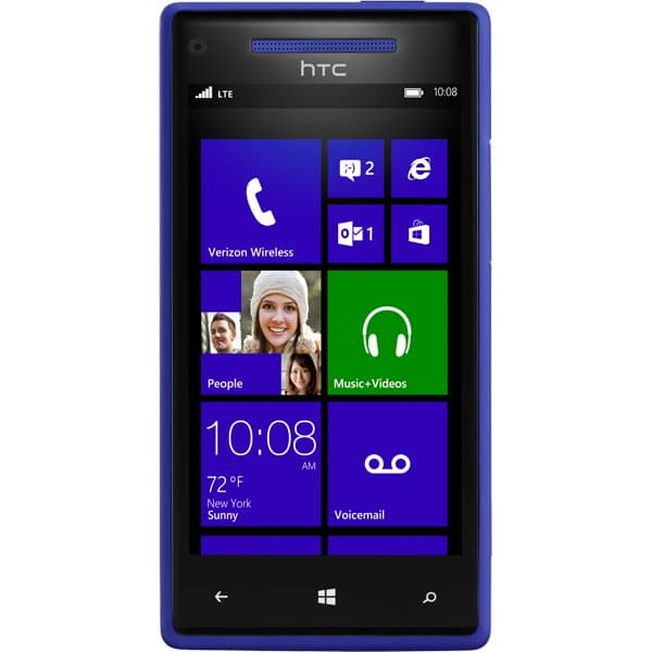 Windows Phone 8X by HTC Blue - 4G LTE