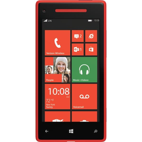 Windows Phone 8X by HTC Red for Verizon Wireless