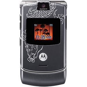 Motorola RAZR V3 Dragon Tattoo w/ myFaves