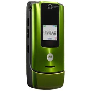 Motorola W490 Unlocked Phone with Camera, and Video Player (Green)