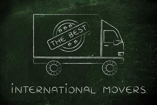 Best International Movers in Glady, WV