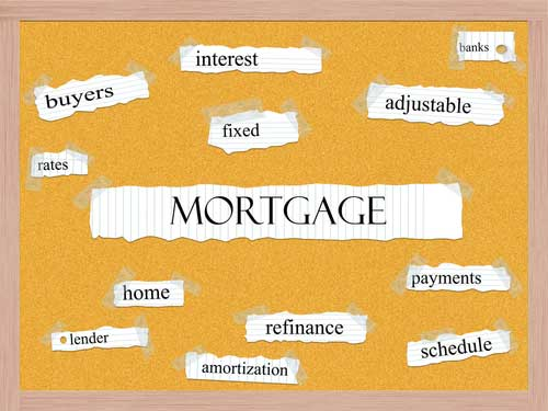 Types of Mortgages in Camden, TX