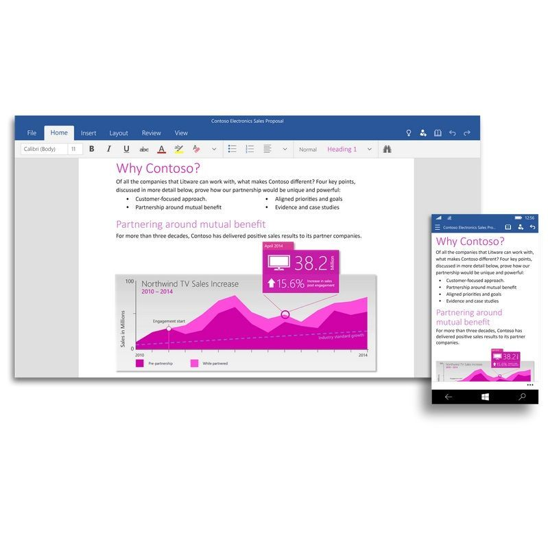 microsoft has made word  excel and powerpoint more touch