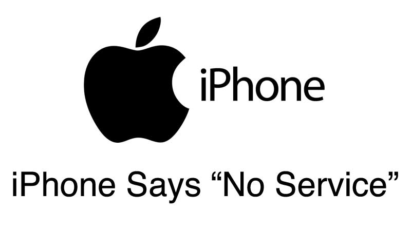 iPhone Says No Service and How To Fix It | Wirefly