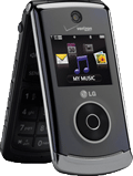 LG Chocolate 3 Black