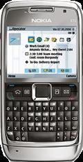 Nokia E71 Silver