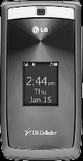 LG UX280 Silver