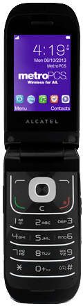 Alcatel 768 Black