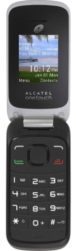 Alcatel A206G Black