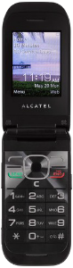 Alcatel A392G Black