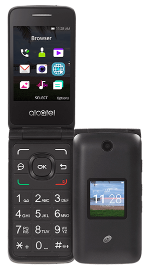 Alcatel MyFlip Black