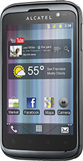 Alcatel One Touch 991 Black