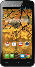 ALCATEL ONETOUCH Fierce Black