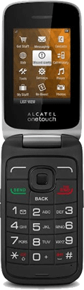 Alcatel ONETOUCH Fling Black