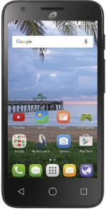 Alcatel ONETOUCH Pixi Avion Black