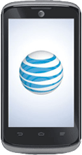 AT&T Radiant GoPhone Black