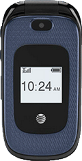 AT&T Z222 GoPhone Black