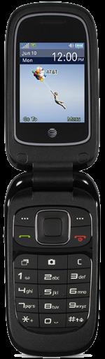 AT&T Z223 GoPhone Black