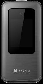 B-Mobile C240 3G Flip Black