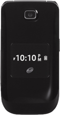 Big Button Flip Alcatel A392G Black