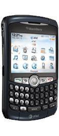 BlackBerry Curve 8320 Blue
