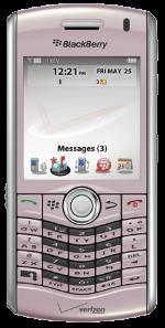 BlackBerry Pearl 8130 Pink