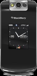 BlackBerry Pearl Flip 8220 Black