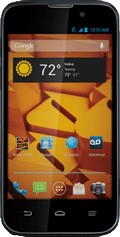Boost Warp 4G by ZTE Black