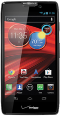 DROID RAZR HD by Motorola Black