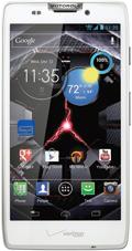 DROID RAZR MAXX HD by Motorola White