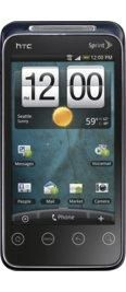 HTC EVO Shift 4G Black