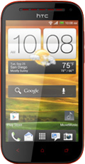 HTC One SV Red