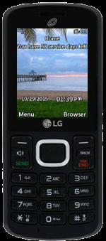 LG 329G Black