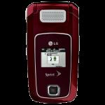 LG LX400 Red