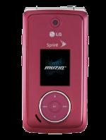 LG Muziq LX570 Pink