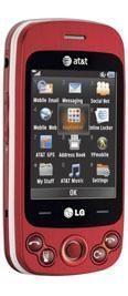 LG Neon II Red