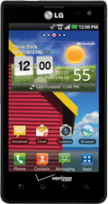 LG Optimus Exceed Black