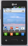 LG Optimus Logic Black