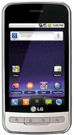 LG Optimus M Black